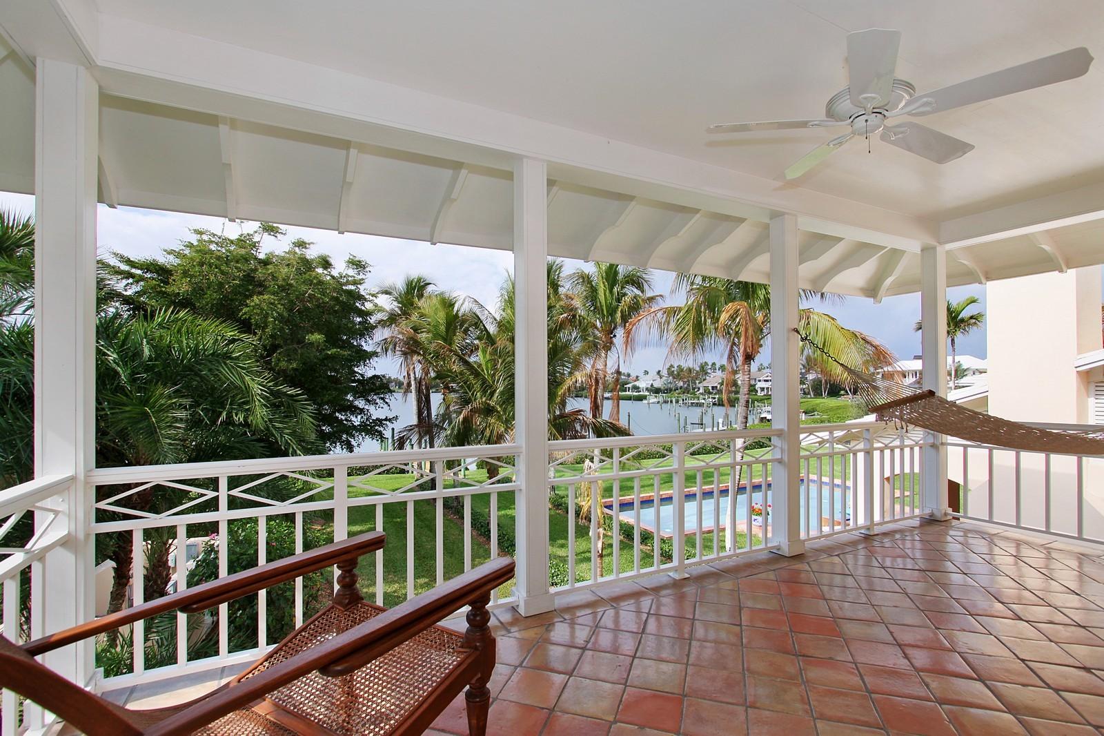 Real Estate Photography - 6840 SE Harbor Cir, Stuart, FL, 34996 - Balcony