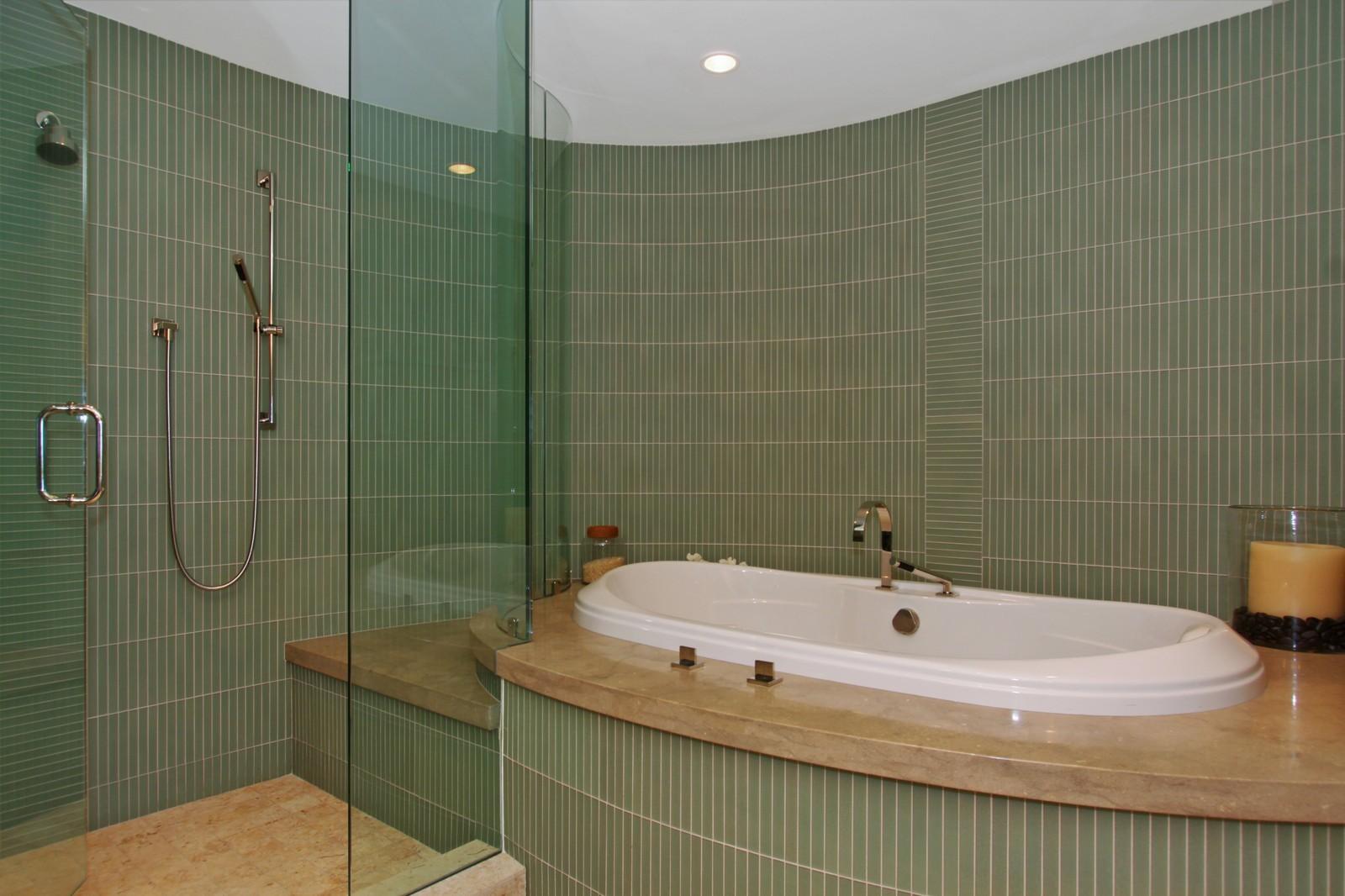 Real Estate Photography - 2001 SE Sailfish Point Blvd, Unit 318, Stuart, FL, 34996 - Master Bathroom