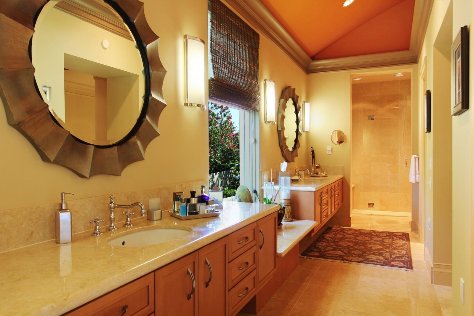 Real Estate Photography - 6814 SE Isle Way, Stuart, FL, 34996 - Master Bath 1