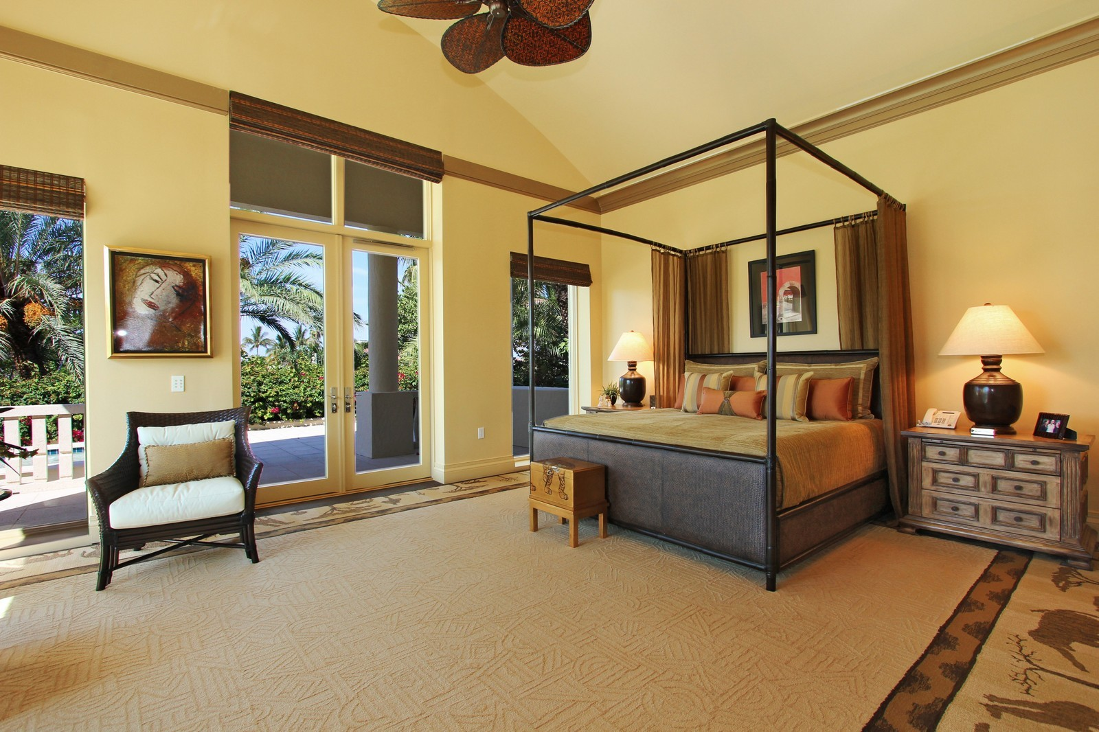 Real Estate Photography - 6814 SE Isle Way, Stuart, FL, 34996 - Master Bedroom 1