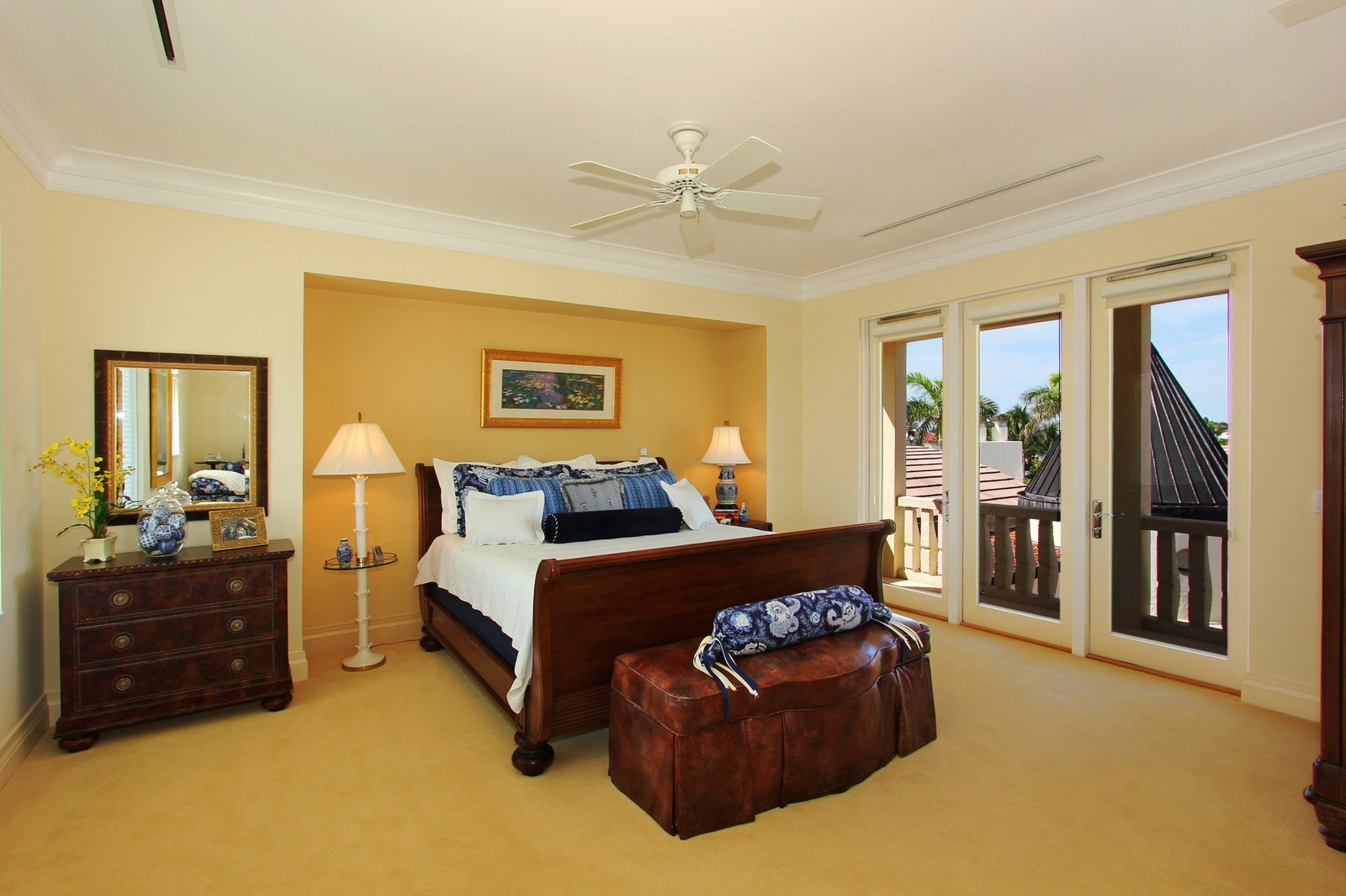 Real Estate Photography - 6814 SE Isle Way, Stuart, FL, 34996 - Guest Bedroom #2
