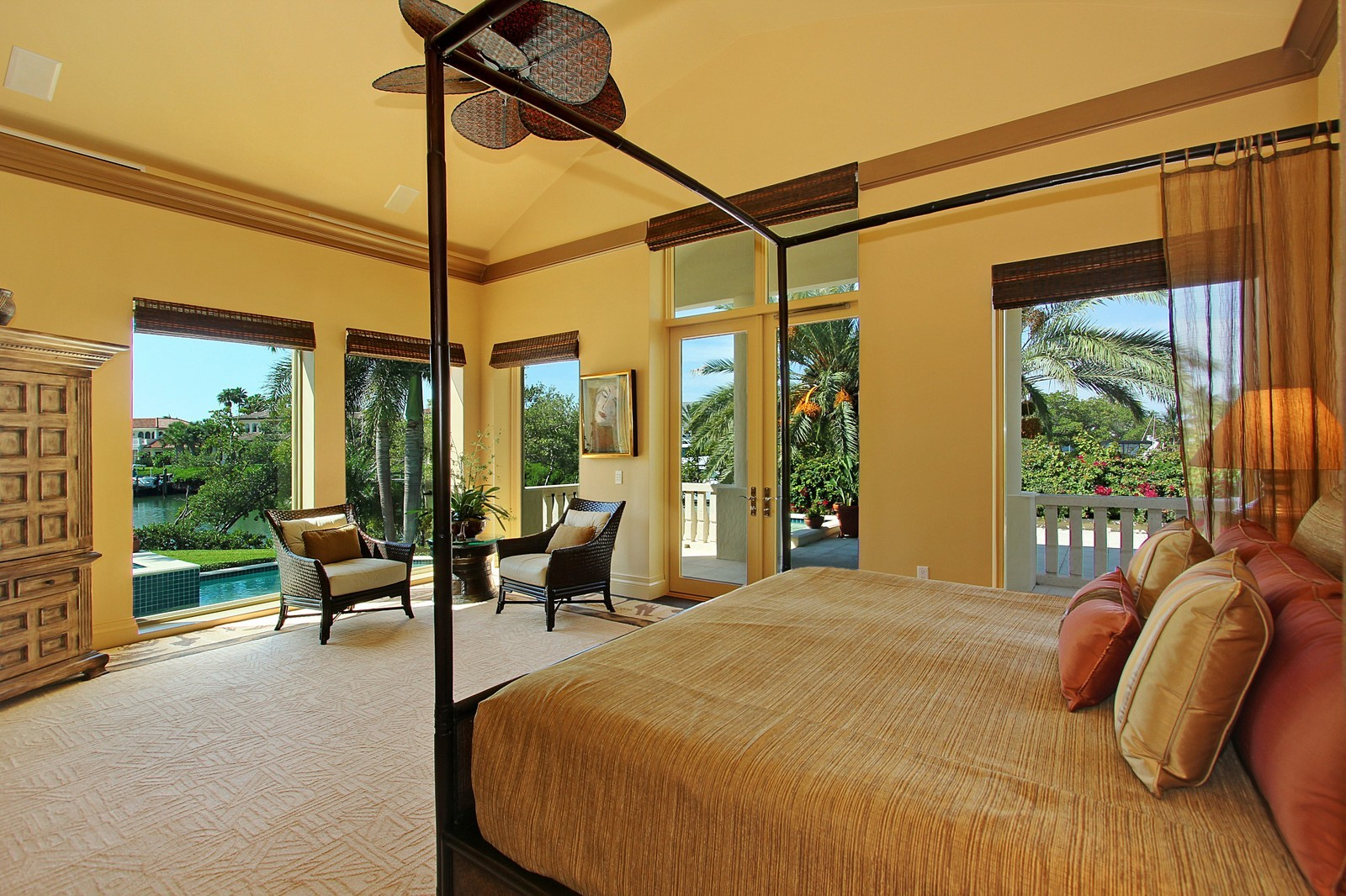 Real Estate Photography - 6814 SE Isle Way, Stuart, FL, 34996 - Master Bedroom 2