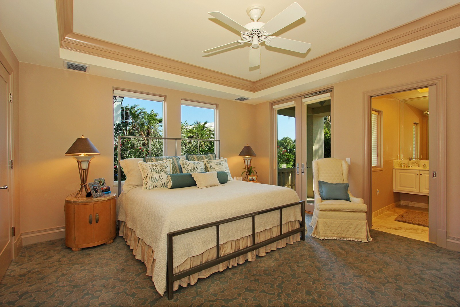 Real Estate Photography - 6814 SE Isle Way, Stuart, FL, 34996 - Guest Bedroom #1