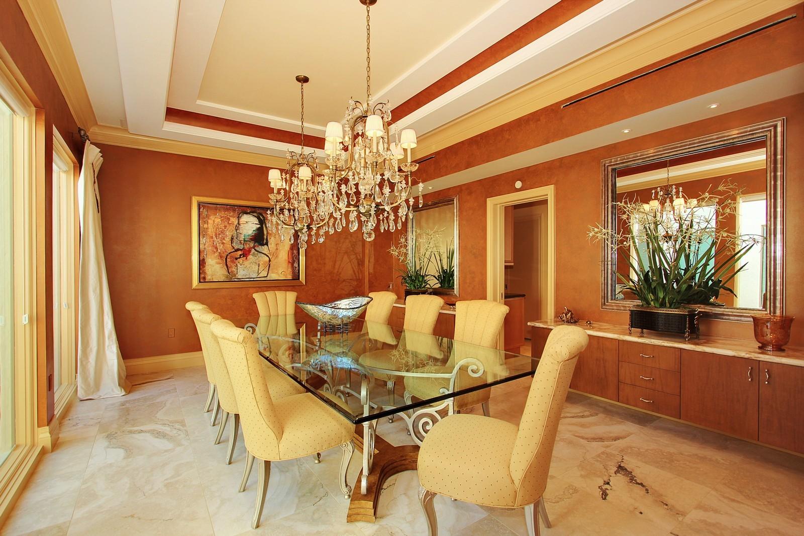 Real Estate Photography - 6814 SE Isle Way, Stuart, FL, 34996 - Dining Room