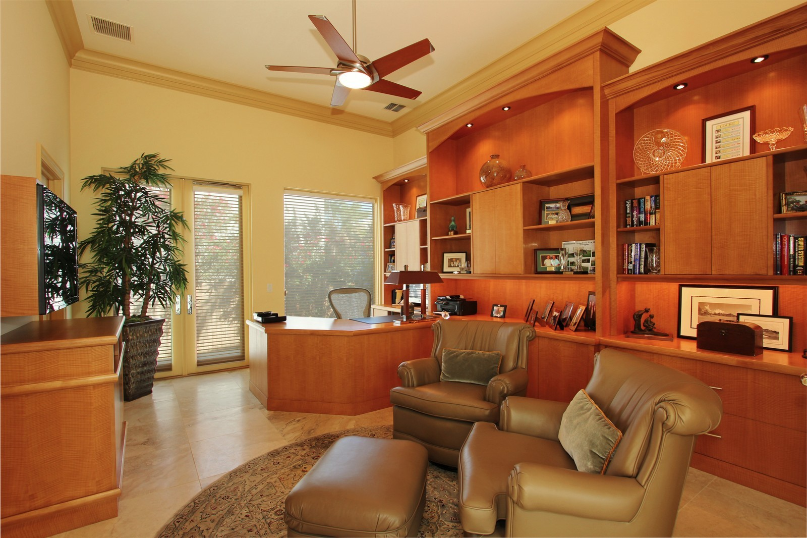Real Estate Photography - 6814 SE Isle Way, Stuart, FL, 34996 - Office or Bedroom