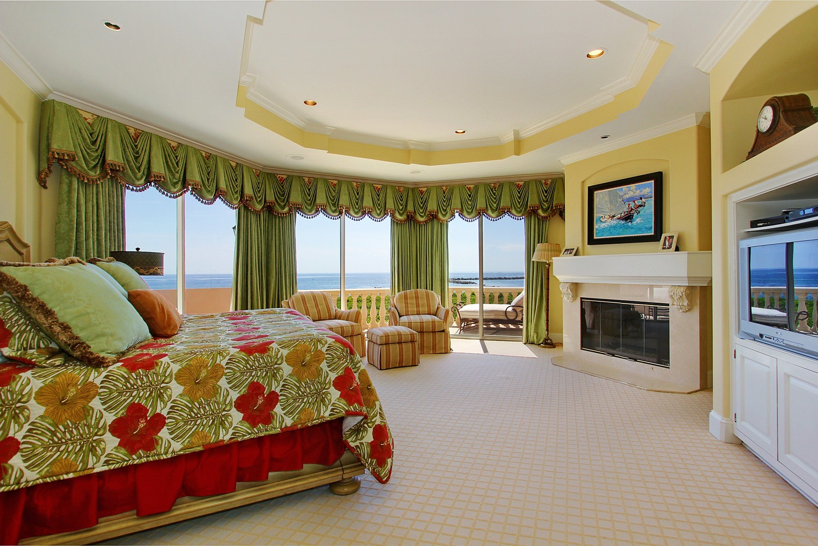 Real Estate Photography - 3047 SE Island Point Lane, Stuart, FL, 34996 - Master Bedroom