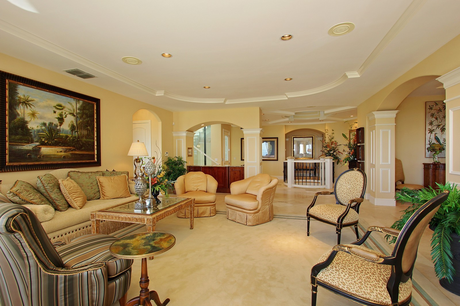 Real Estate Photography - 3047 SE Island Point Lane, Stuart, FL, 34996 - Living Room