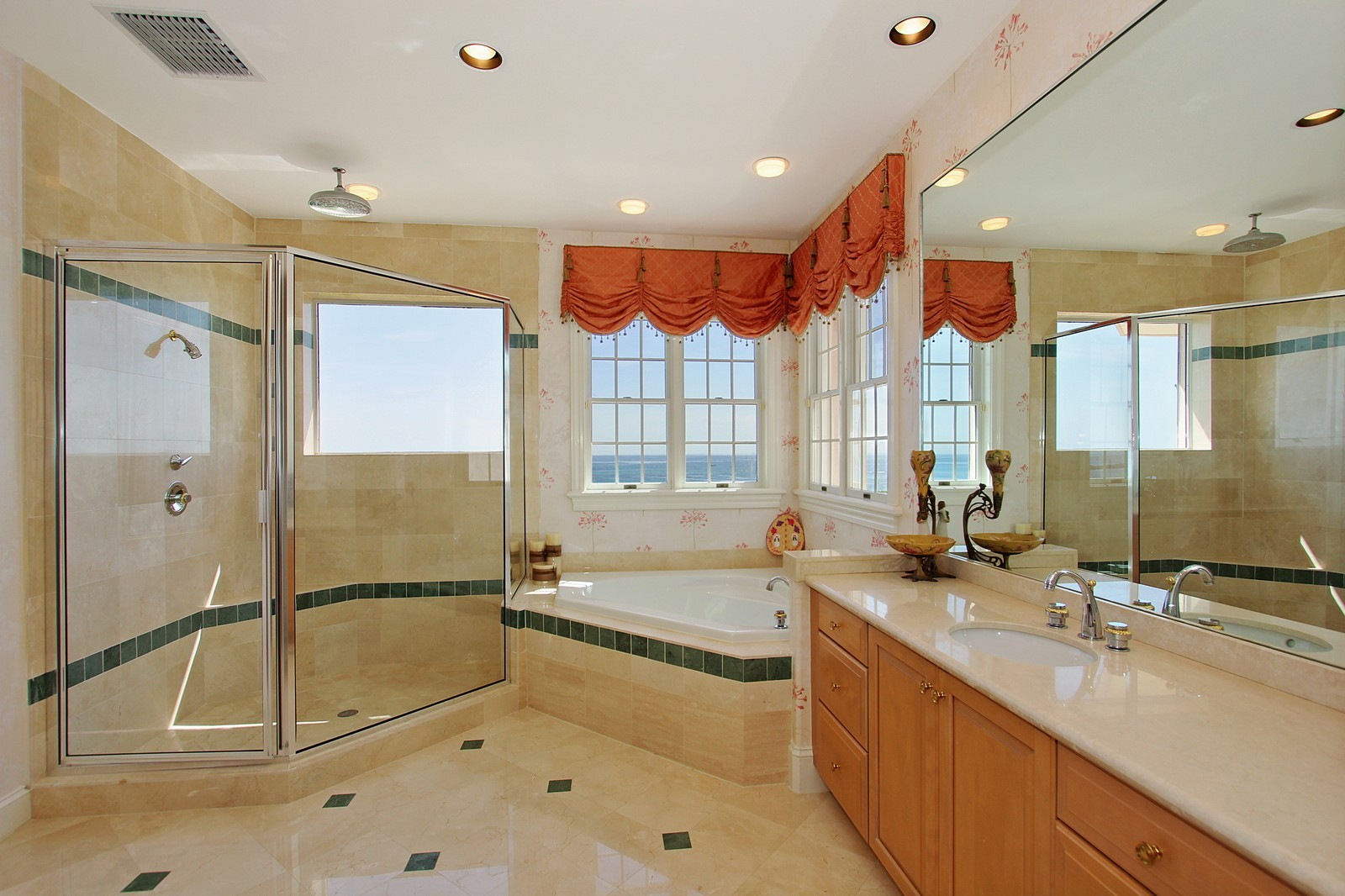 Real Estate Photography - 3047 SE Island Point Lane, Stuart, FL, 34996 - Her Bathroom