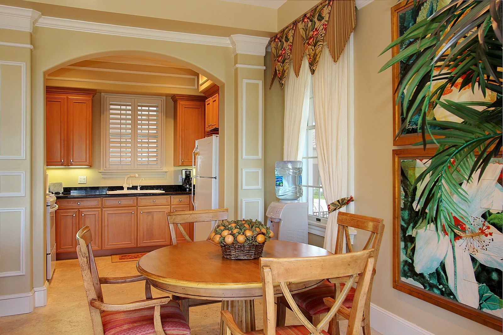 Real Estate Photography - 3047 SE Island Point Lane, Stuart, FL, 34996 - Guest House Dining/Kitchen