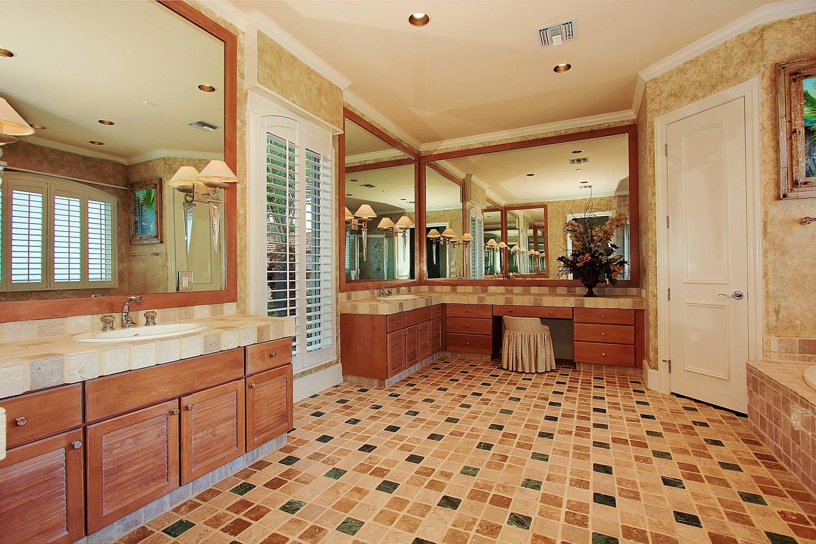 Real Estate Photography - 3047 SE Island Point Lane, Stuart, FL, 34996 - Guest House Bathroom 1 of 4 full baths