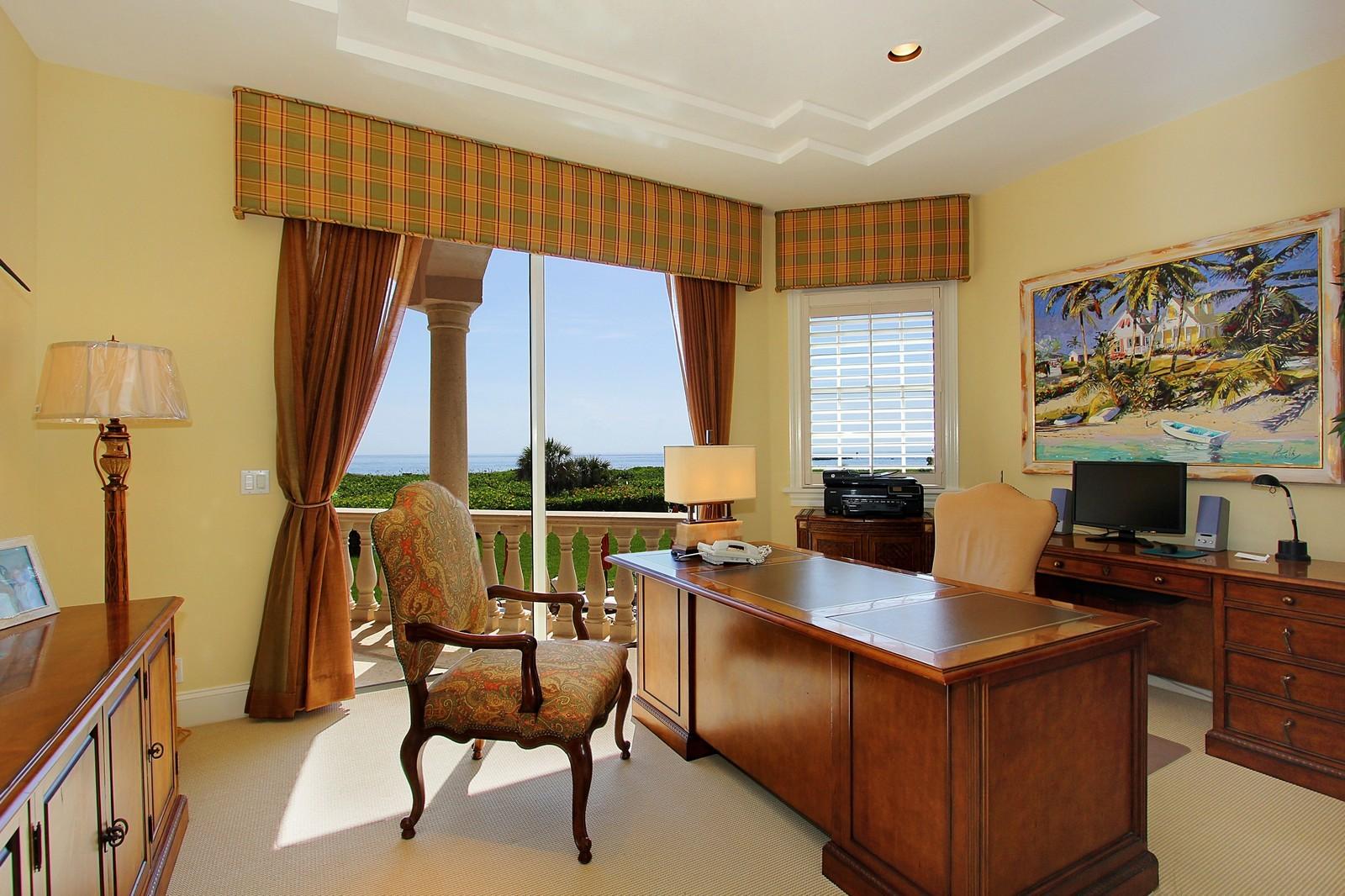 Real Estate Photography - 3047 SE Island Point Lane, Stuart, FL, 34996 - Office