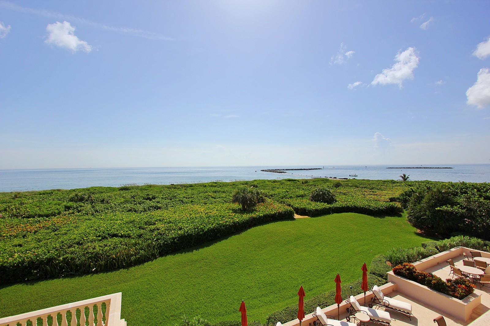 Real Estate Photography - 3047 SE Island Point Lane, Stuart, FL, 34996 - Ocean View with Private Dune Walk
