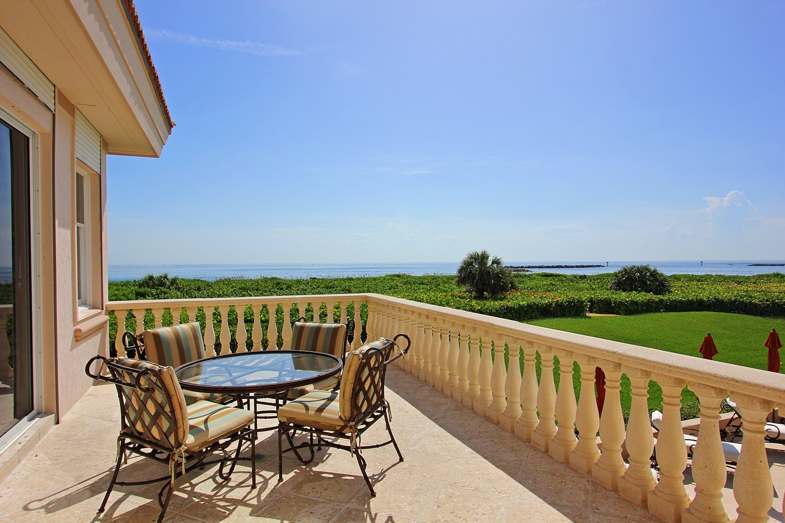 Real Estate Photography - 3047 SE Island Point Lane, Stuart, FL, 34996 - Balcony