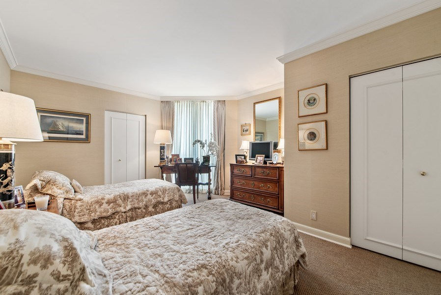 Real Estate Photography - 529 S Flagler Dr 26E/F, West Palm Beach, FL, 33401 - Guest Bedroom 3