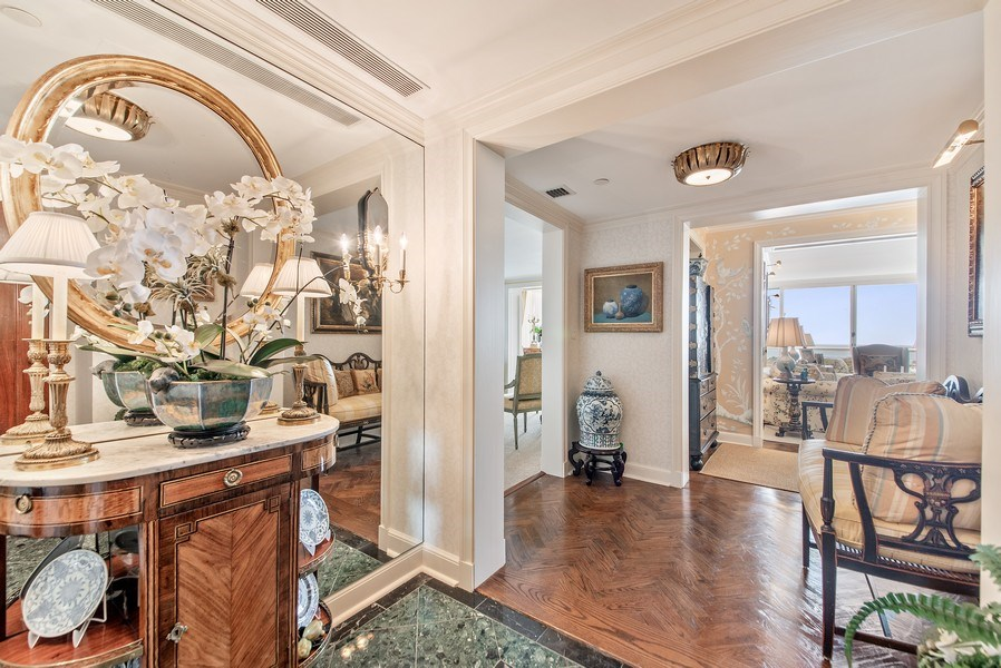Real Estate Photography - 529 S Flagler Dr 26E/F, West Palm Beach, FL, 33401 - Entry Foyer