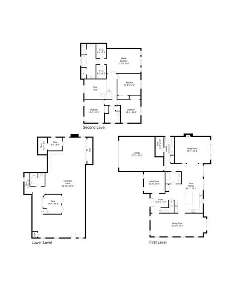 Real Estate Photography - 280 Suydam lane, Bayport, NY, 11705 - Floor Plan
