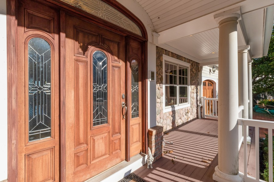 Real Estate Photography - 28 Sea Spray Dr, Centerport, NY, 11743 - Covered Front Porch