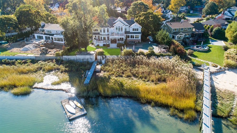 Real Estate Photography - 28 Sea Spray Dr, Centerport, NY, 11743 - Coastal Living w/ Private Dock