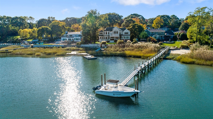 Real Estate Photography - 28 Sea Spray Dr, Centerport, NY, 11743 - Boaters Dream