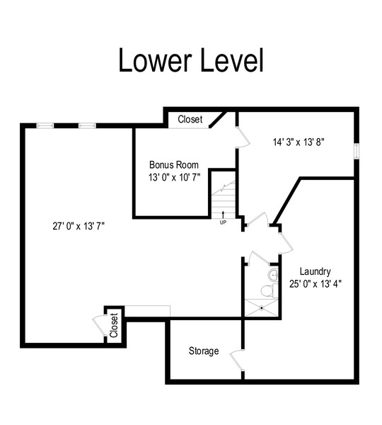 Real Estate Photography - 1428 Garfield Rd, East Meadow, NY, 11554 - Floor Plan