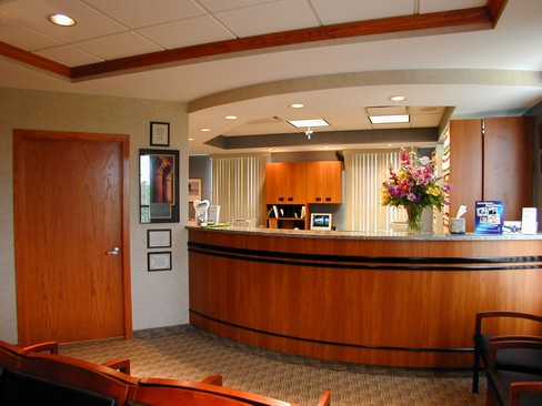 Real Estate Photography - 21851 Center Ridge Rd, Ste 506, Rocky River, OH, 44116 - Reception-Desk