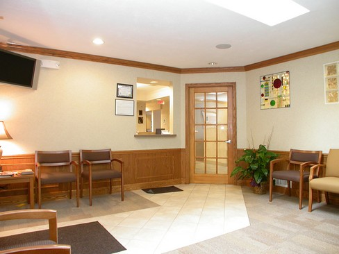 Real Estate Photography - Paul J. Minnillo DDS, Inc.<br>1212 N Abbe Rd, Elyria, OH, 44035 - Waiting Room