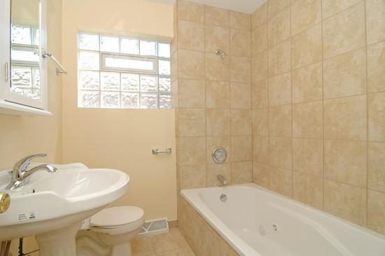 Real Estate Photography - 14319 Kimbark Ave, Dolton, IL, 60419 - Bathroom