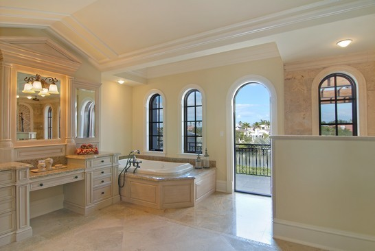 Real Estate Photography - 6976 SE Harbor Cir, Stuart, FL, 34996 - Master Bathroom
