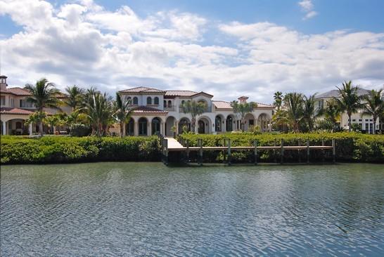 Real Estate Photography - 6976 SE Harbor Cir, Stuart, FL, 34996 - Rear View