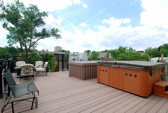 Real Estate Photography - 1040 N Winchester, Chicago, IL, 60622 - Roof
