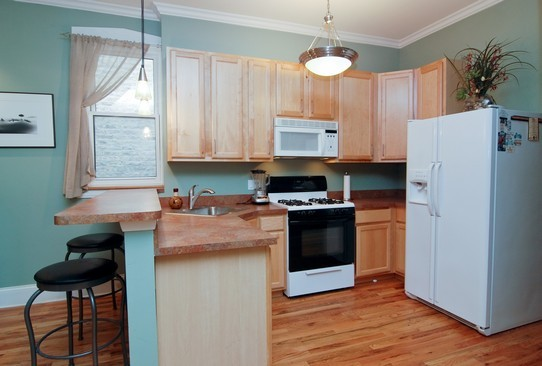 Real Estate Photography - 1040 N Winchester, Chicago, IL, 60622 - Kitchen