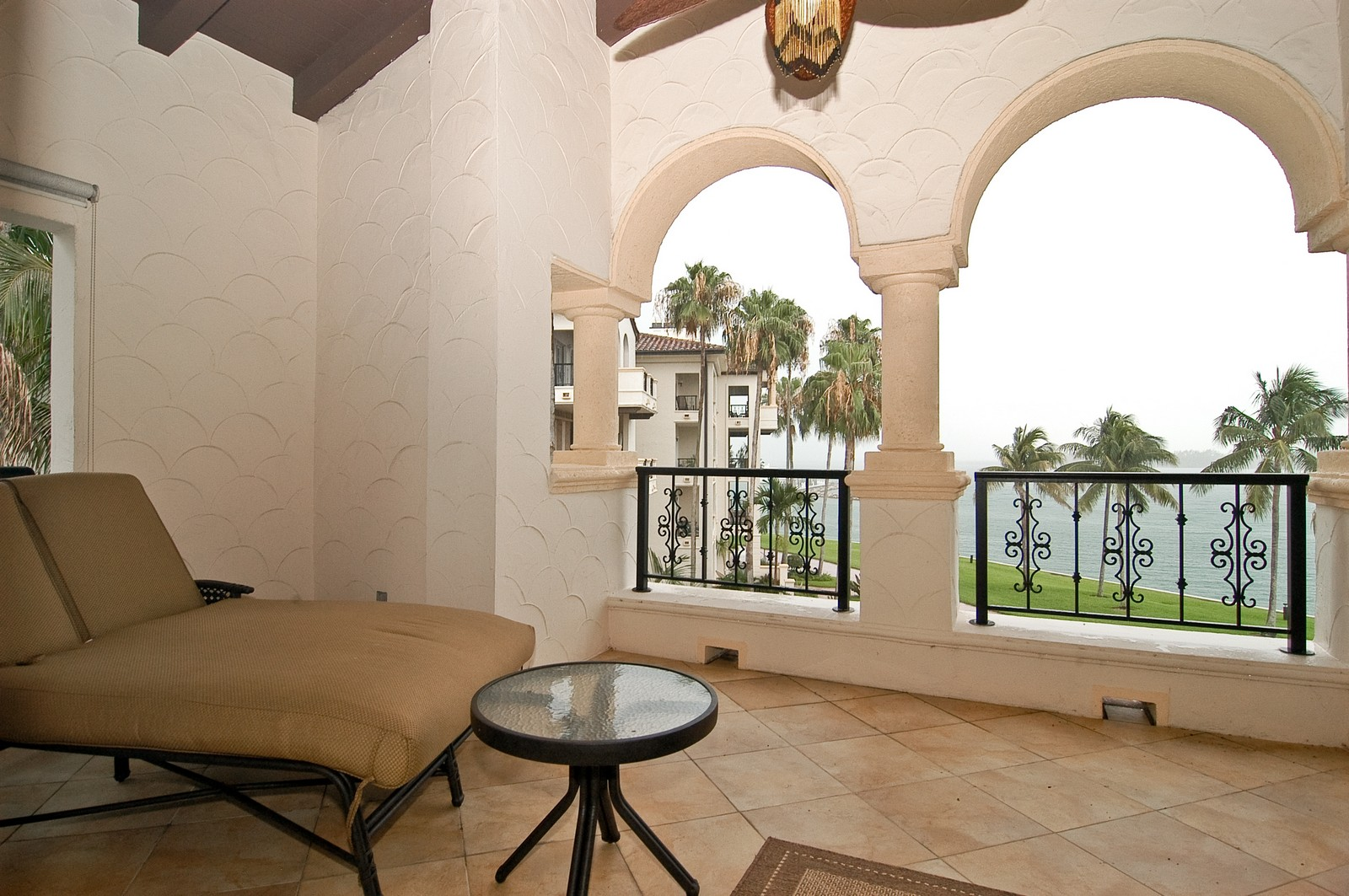 Real Estate Photography - 2331 Fish Island Dr, Fisher Island, FL, 33109 - Terrace