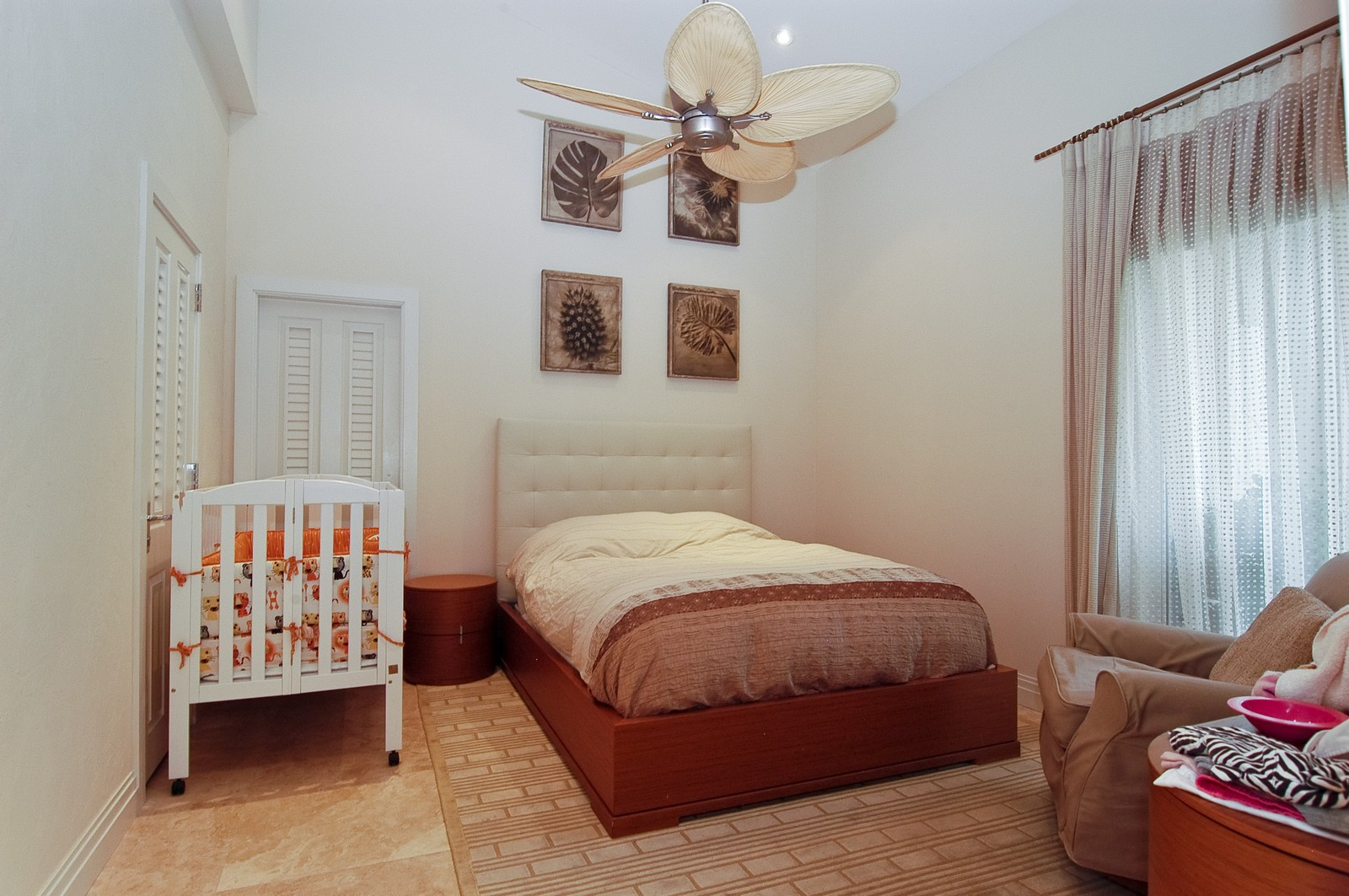 Real Estate Photography - 2331 Fish Island Dr, Fisher Island, FL, 33109 - 3rd Bedroom