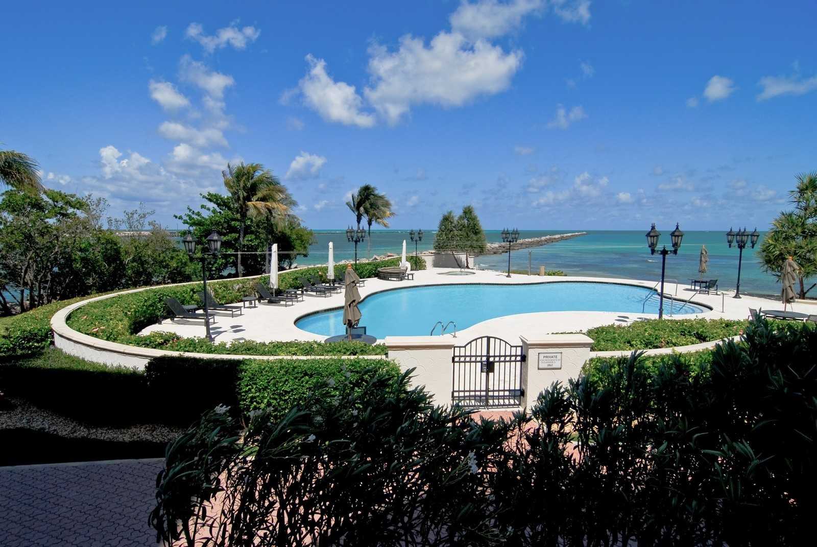 Real Estate Photography - 7281 Fisher Island Drive, Fisher Island, FL, 33109 - Pool