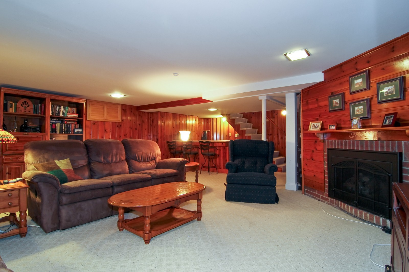 Real Estate Photography - 441 Edgewood Dr, La Grange, IL, 60525 - Basement