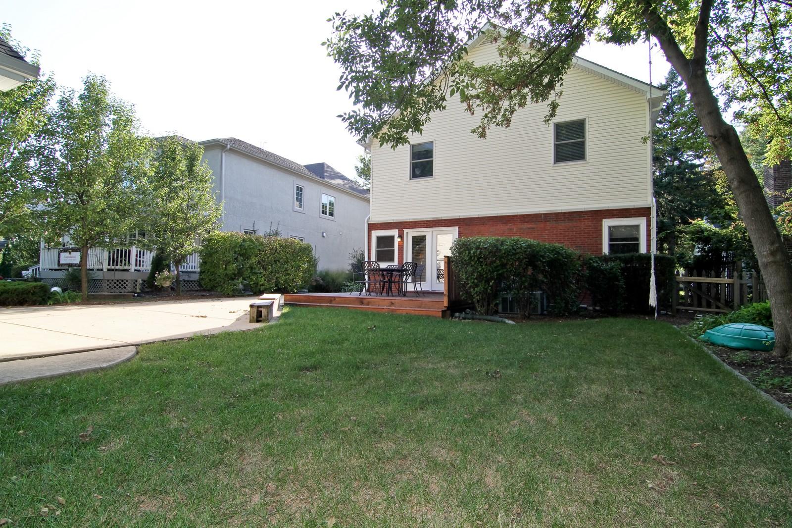 Real Estate Photography - 441 Edgewood Dr, La Grange, IL, 60525 - Rear View