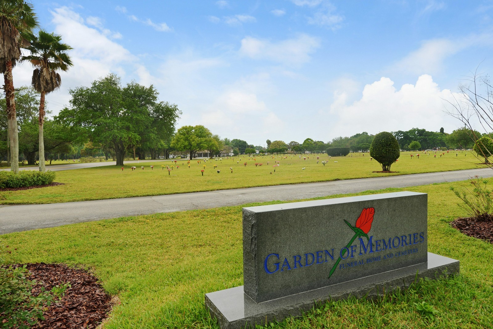 fl real estate photography 4207 east lake ave garden of memories tampa - Garden Of Memories Tampa