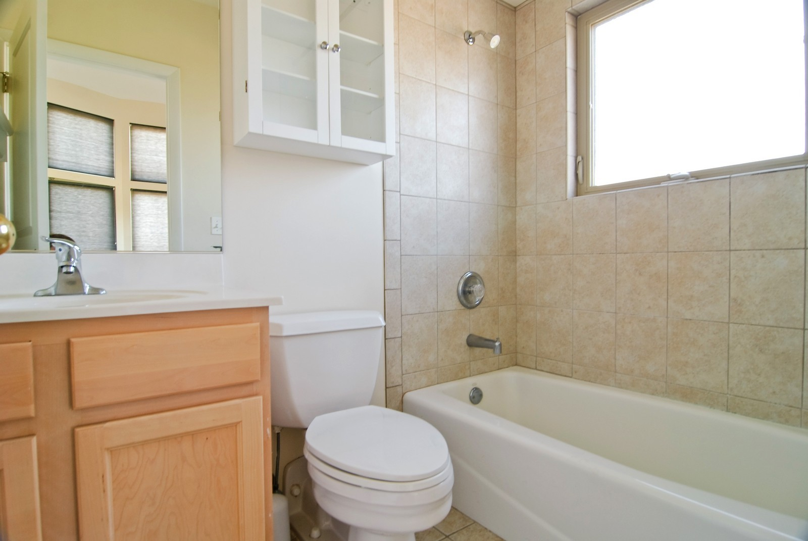 Real Estate Photography - 827 Dunlop, Forest Park, IL, 60130 - Master Bathroom