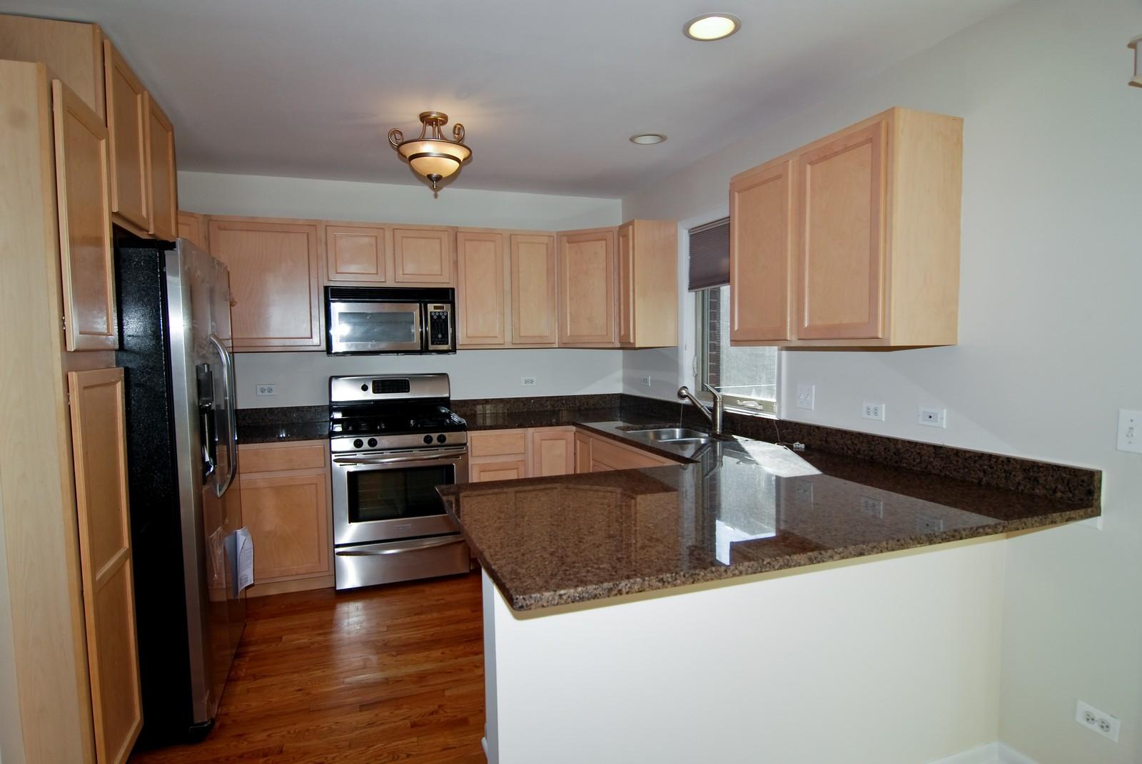 Real Estate Photography - 827 Dunlop, Forest Park, IL, 60130 - Kitchen