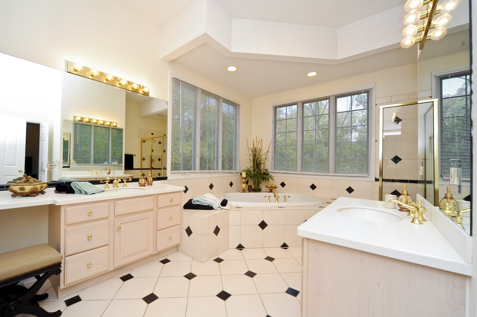 Real Estate Photography - 22575 N Riverwoods Rd, Lincolnshire, IL, 60069 - Master Bathroom
