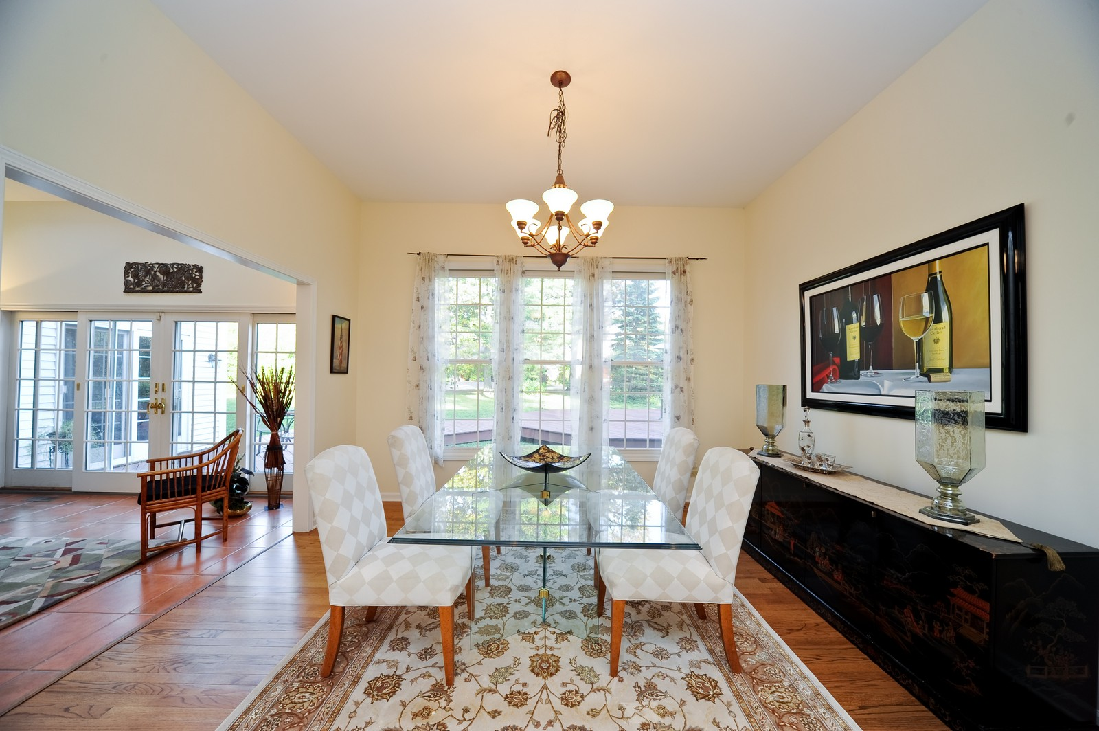 Real Estate Photography - 22575 N Riverwoods Rd, Lincolnshire, IL, 60069 - Dining Room