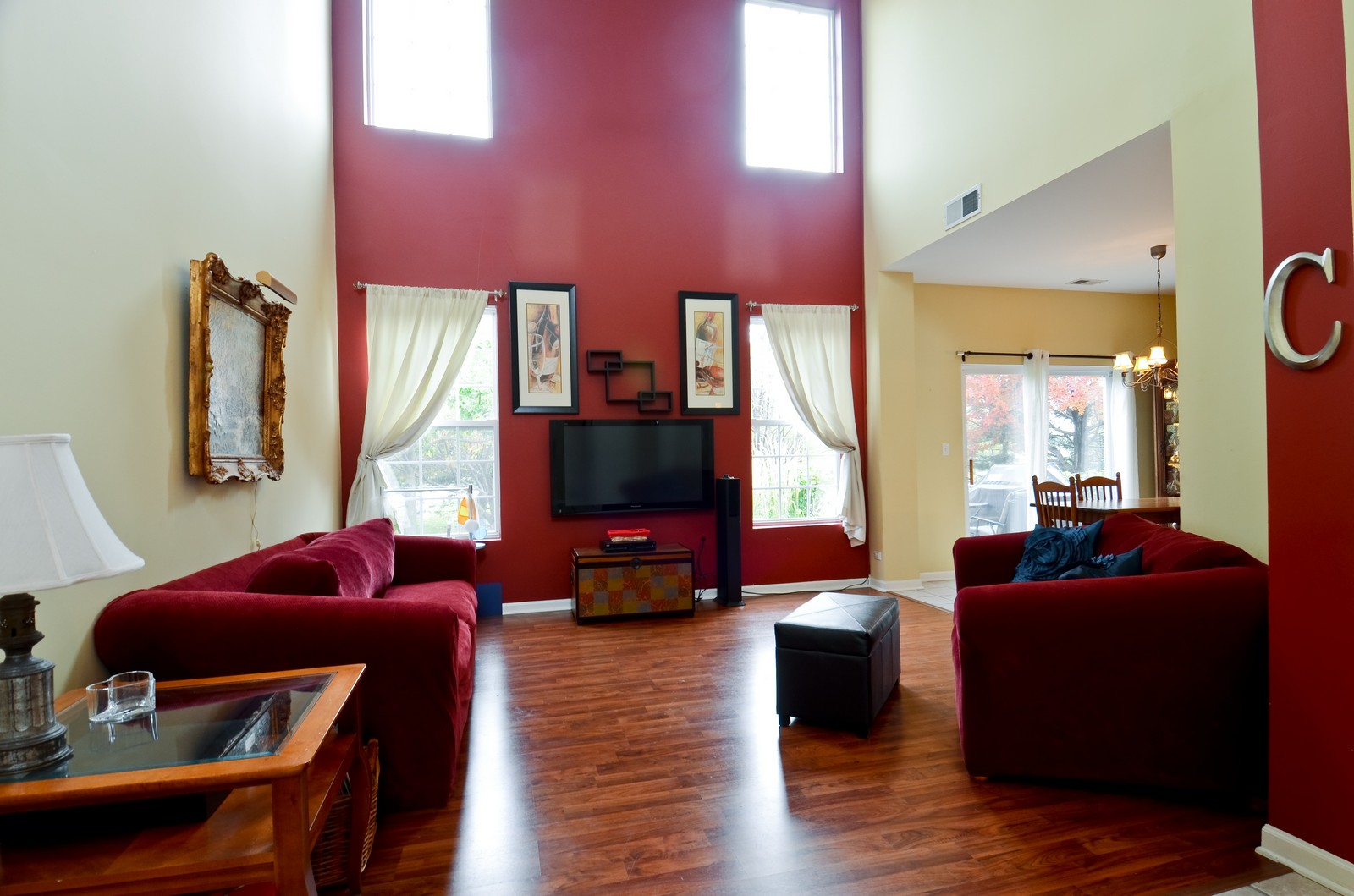 Real Estate Photography - 2822 Collins, Naperville, IL, 60540 - Living Room