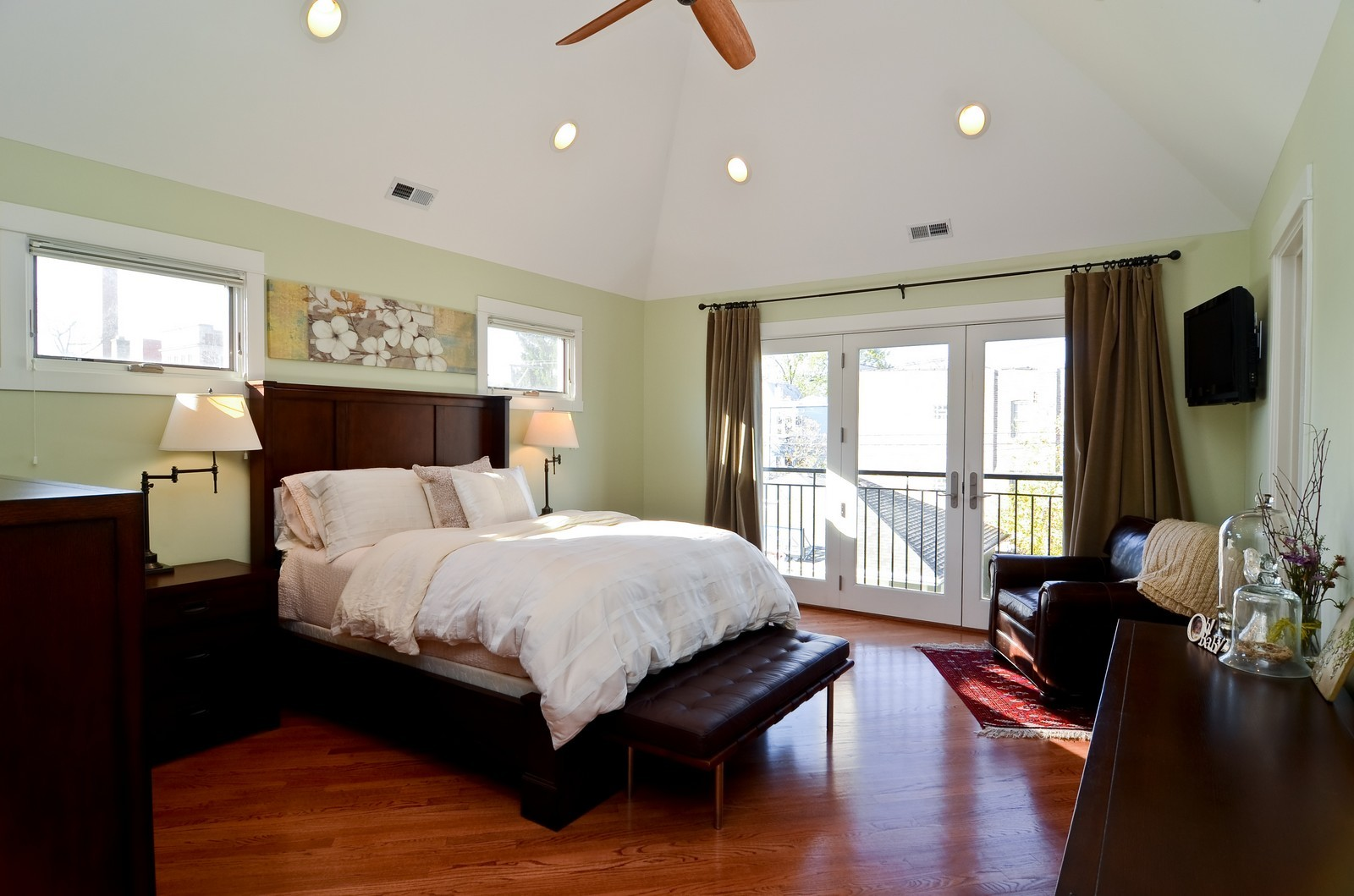 Real Estate Photography - 4332 N Keeler, Chicago, IL, 60641 - Master Bedroom