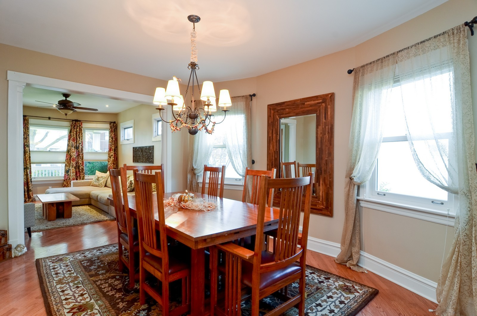 Real Estate Photography - 4332 N Keeler, Chicago, IL, 60641 - Dining Room