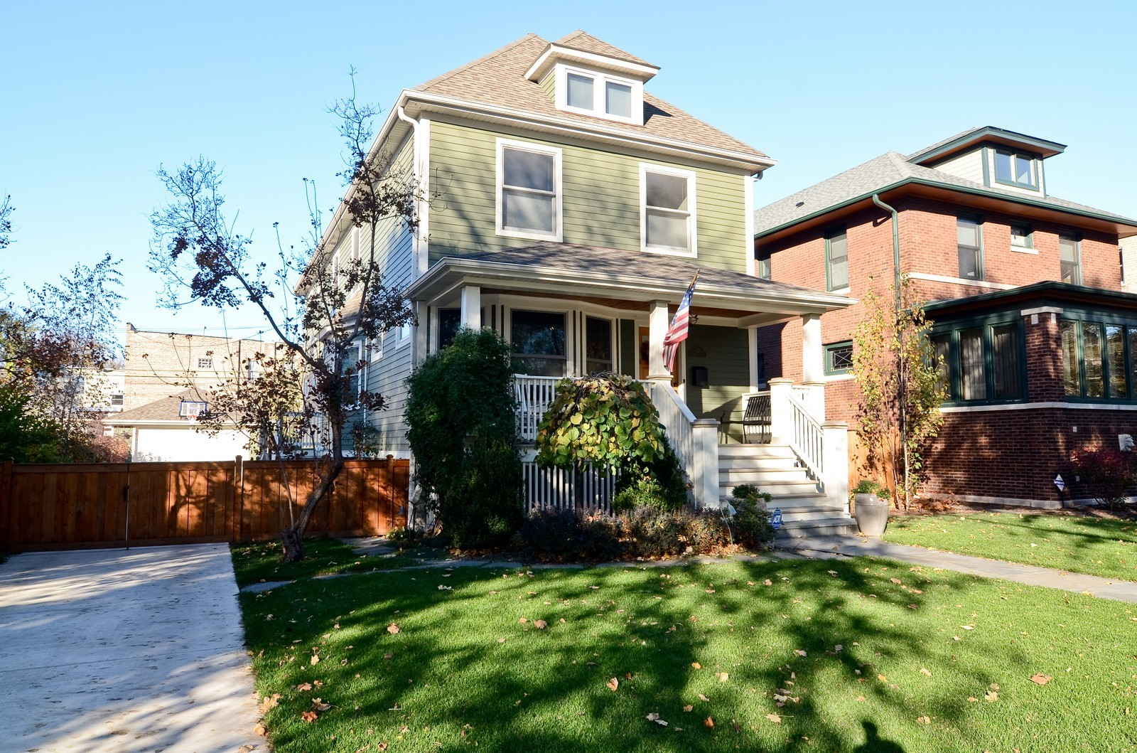 Real Estate Photography - 4332 N Keeler, Chicago, IL, 60641 - Front View