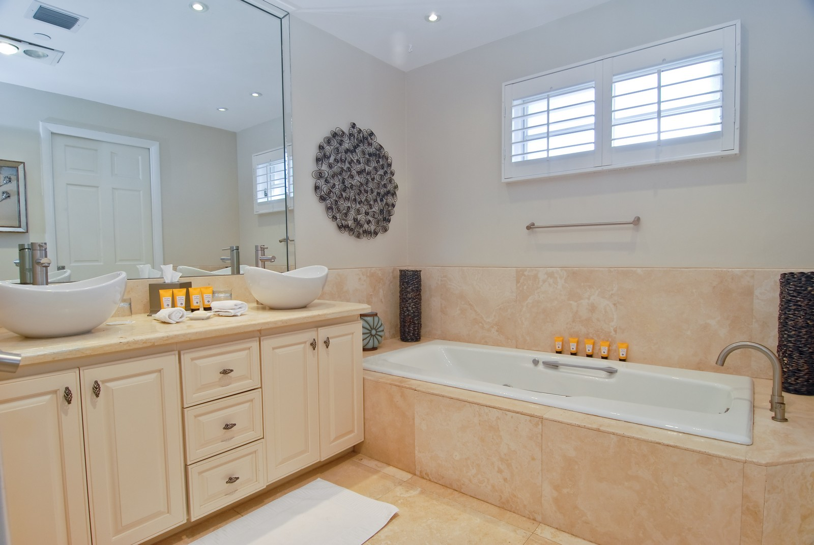 Real Estate Photography - 15521 Fisher Island Dr, Fisher Island, FL, 33109 - Master Bathroom