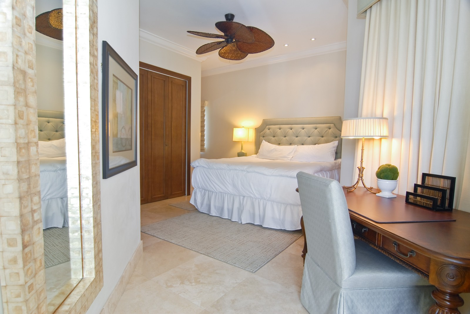 Real Estate Photography - 15521 Fisher Island Dr, Fisher Island, FL, 33109 - Master Bedroom