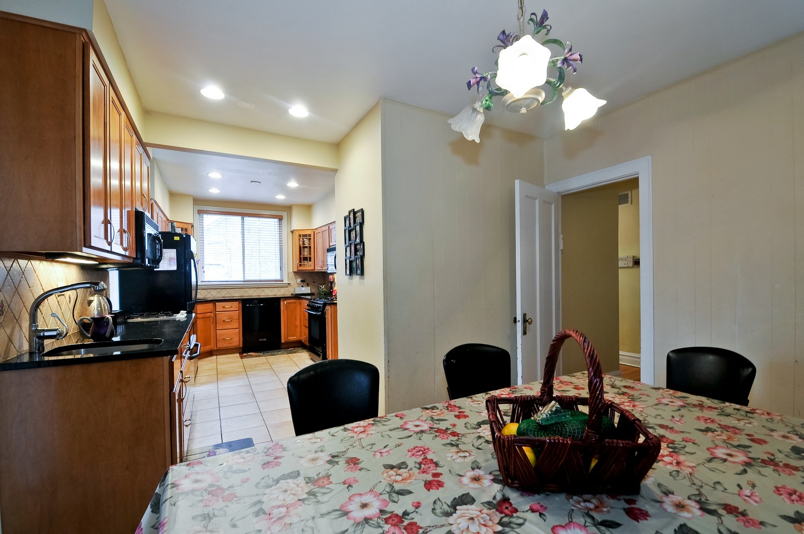 Real Estate Photography - 6605 N Whipple St, Chicago, IL, 60645 - Kitchen / Breakfast Room