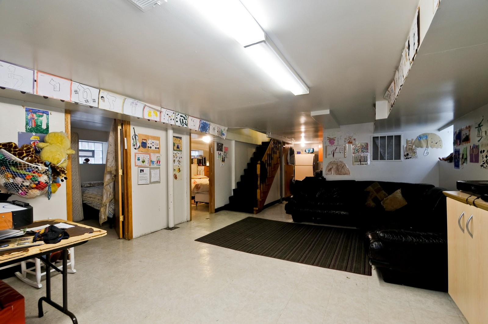 Real Estate Photography - 6605 N Whipple St, Chicago, IL, 60645 - Basement