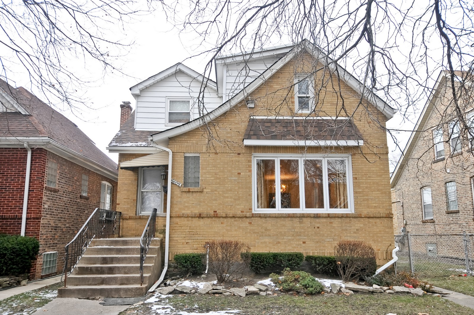 Real Estate Photography - 6605 N Whipple St, Chicago, IL, 60645 - Front View
